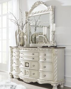 Cassimore Dresser And Mirror In 2019 Products Silver Dresser throughout size 2880 X 3600 Silver Shabby Chic Bedroom Furniture - Homeowners are becoming Furniture, Shabby Chic Dresser, Dresser Decor, Silver Dresser, Home Decor, Shabby Chic Bedrooms, Shabby Chic Furniture, Shabby Chic Room, Chic Home Decor