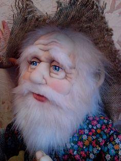 Купить Домовой - комбинированный, кукла ручной работы, кукла интерьерная, домовой, домовой оберег, домовенок