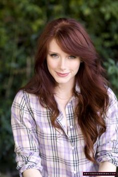 Bryce Dallas Howard and Side Swept Bangs Photograph