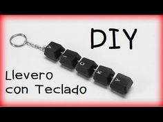 90. RECICLAJE DE TECLADO (LLAVERO) DIY  KEY CHAIN
