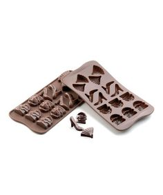 Chocolate Lovers Collection | Chocolate molds in little purses and shoes!!!  Chocolate shoes!  Doesn't get much better than that!!!!