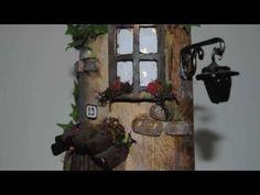 ARTE & CICA CASINHAS EM TELHAS - YouTube