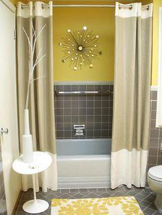 Bathroom?great color for old school tile