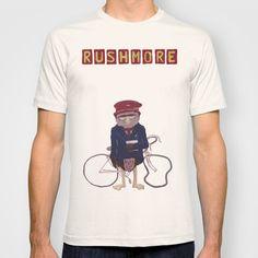 rushmore+T-shirt+by+christopher-james+robert+warrington+-+$22.00