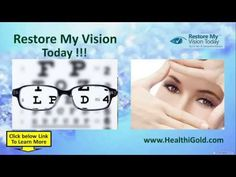 Restore My Vision Today Review Reveals How To Regain 20/20 Vision Quickly & Naturally #better_vision #restoremyvisiontoday #Restore_My_Vision_Today_Review