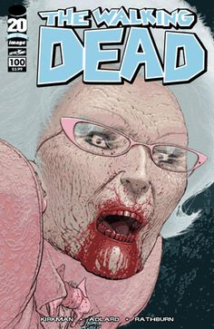 The Walking Dead #100 | Community Post: 30 Animated Comic Book Covers That Are Downright Hypnotizing