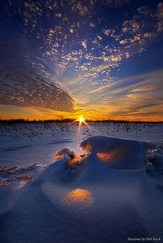 """A Breath Away"""" Horizons by Phil Koch. Lives in Milwaukee, Wisconsin, USA. Beautiful Sunset, Beautiful World, Beautiful Places, Amazing Photography, Landscape Photography, Nature Photography, Photography Tips, Cool Pictures, Beautiful Pictures"""