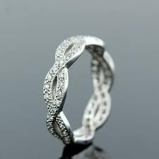 I like this idea of a 'different' wedding band. Not the typical band