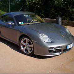 Dream car: Porsche Cayman.