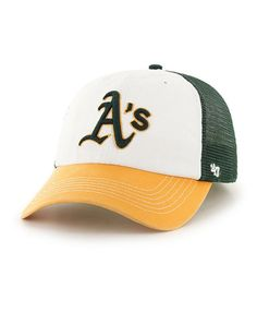 MLB Oakland A s McKinley  47 CLOSER Stretch Fit Hat Oakland Athletics e31bb27af4a7