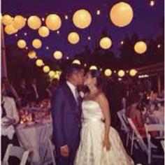 Lanterns make nice wedding decor.