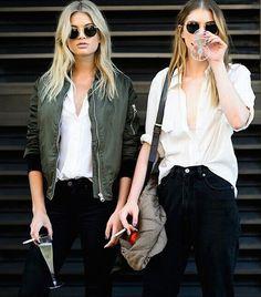 Rock 'n' Roll Style ✯ Megan Irwin & Charlotte Gregg