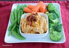 Sundried Tomato Hummus is vegan