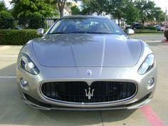 2012 Maserati GranTurismo S Coupe in Grigio Nuvolari Silver at Park Place Maserati in Dallas