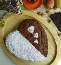 TORTA soffice al #cioccolato e #nocciole