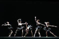 "Maria Kochetkova, Natalia Osipova, Polina Semionova, Ekaterina Krysanova and Ekaterina Shipulina in Mauro Bigonzetti's ""Cinque"". Photo by Damir Yusupov, 2011."