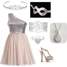"""""""Sweet 16 Masquerade with One Direction"""" by emilyxestelle on Polyvore for Lexi DeBlasio (:"""