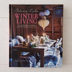 "From interior stylist Selina Lake, this atmospheric volume brings vintage, romantic style to cool-weather decorating. Tips for flowers, lighting, fabrics, furniture, and more pair with DIY ideas and style suggestions for creating a welcoming home in the winter months.- 160 pages- Hardcover- Ryland Peters & Small10.8""H, 8.8""W, 0.8""D"