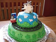 Harold cake full view by Pixie Pie Creative Cakes, 2nd Birthday, Cake Ideas, Pixie, Disney, Desserts, Kids, Food, Tailgate Desserts