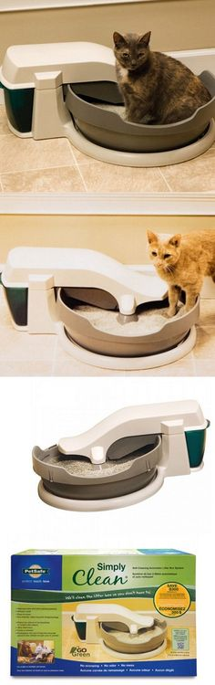 animals cats automatic cat litter box self cleaning boxes for cats auto clean hygienic gift