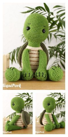Crochet animals 394065036148290563 - Amigurumi Cute Turtle Free Pattern – Free Amigurumi Patterns Source by spiraud Crochet Animal Patterns, Stuffed Animal Patterns, Crochet Patterns Amigurumi, Amigurumi Doll, Crochet Dolls, Knitting Patterns, Crochet Animals, Doll Patterns Free, Crochet Easter