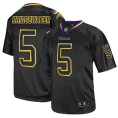 e5b30107e Nike Limited Teddy Bridgewater Lights Out Black Men s Jersey - Minnesota  Vikings  5 NFL Ice