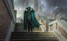 Jace, Vryn's Prodigy art by Jaime Jones Fantasy Inspiration, Character Inspiration, Character Art, Character Portraits, High Fantasy, Fantasy World, Dark Souls, Mtg Planeswalkers, Dragon Age Games