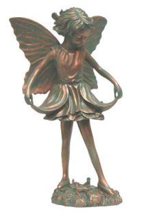 Freida The Fancy Fairy Solid Bronze Garden Statue Sculpture New By Artistic  Solutions, Http://www.amazon.com/dp/B00273GSQI/refu003dcm_sw_r_pi_dp_LE7oqbu2026