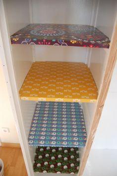 schrank aufpeppen on pinterest deko shelves and colour. Black Bedroom Furniture Sets. Home Design Ideas