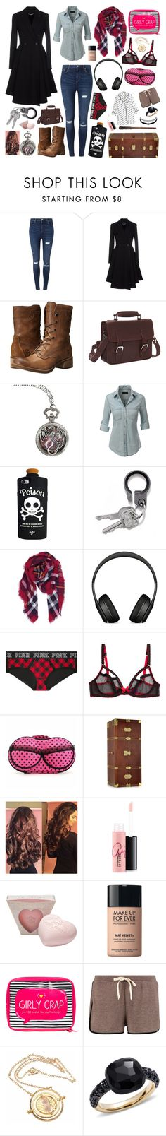 """Harry Potter RP OC"" by evil-fangirl-overlord ❤ liked on Polyvore featuring Miss Selfridge, Givenchy, Timberland, Vagabond Traveler, LE3NO, Valfré, Humble Chic, Beats by Dr. Dre, L'Agent By Agent Provocateur and The Bridge"