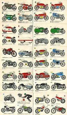 PROTAR Micromodelli 1973. Tarquinio Provini was an Italian moto GP champion from the 60's After an accident in 1966 at the IOM TT, he made a really cool reconversion by producing the best scale models ever of famous GP racers. Here the 1973 Catalog, Moto Guzzi V8, Honda RC166, Gilera 500 record compressor, Norton Manx, Suzuki 50cc Twin are some of these.
