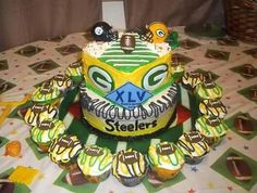 Our Superbowl Cake
