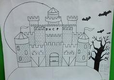 Dulce o truco. Proyecto de arte inspirado en #halloween #americasbicultural #cademyrd #cademy www.cademyrd.com