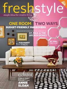 The TomKat Studio featured in Fresh Style Magazine 2014