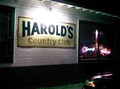 Hilton Head / Savannah / Yemassee: Harold's Country Club in Yemassee, SC- BEST BAR EVER!