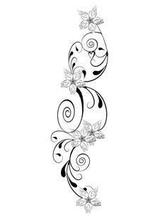 vintage flower tattoo designs | Design Redo By Xxmidnighterxx On Deviantart Flower Design Pattern