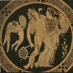 ARIADNA - MITOLOGIA GRIEGA | Ariadna concibió una pasión inmediata hacia Teseo, príncipe ateniense que había llegado a Creta para combatir al Minotauro, hermanastro de la princesa. Le ayudo a salir del laberinto proporcionándole un ovillo de hilo que le había dado Dédalo, que Teseo fue desenrollando a medida que se internaba en el laberinto y que luego le permitiría encontrar la salida.