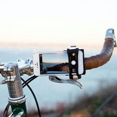 The Handle Band - Universal Smartphone Bar Mount to Any Handle Bar