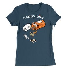 Happy Horse Pill T-Shirt