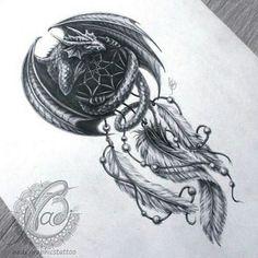 37 ideas tattoo dragon phoenix inspiration - Tattoo Thinks Tattoo Dragon And Phoenix, Dragon Thigh Tattoo, Small Dragon Tattoos, Dragon Tattoo Designs, Couple Tattoos, Leg Tattoos, Body Art Tattoos, Sleeve Tattoos, Tattoos For Guys