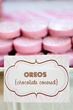 Pink Oreos, Komen bake sale idea!! by adela