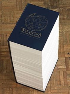 FACT : If Wikipedia were made into a book, it would be 2.25 million pages long and would take you more than 123 years to read