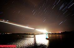 También se utiliza el time-lapse para ver el recorrido de las estrellas.