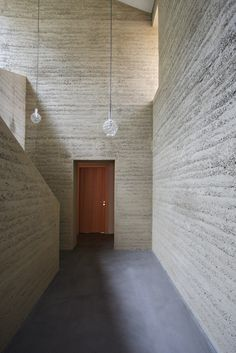 Private House in Flims | Loam Clay Earth, Martin Rauch, Vorarlberg