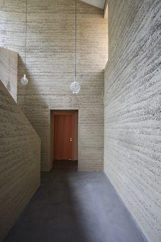 Private House in Flims | Loam Clay Earth, Martin Rauch, Vorarlberg