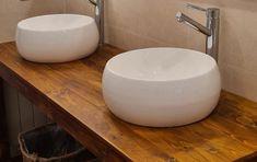 Mueble de lavabo con palets y espejos a juego – I Love Palets Sink, Love, Ideas, Home Decor, Be Better, Bathrooms, Bathroom Sinks, Filing Cabinets, Mirrors