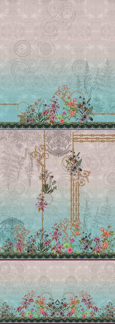 Classic Wall Paint, Fashion Design Drawings, Design Seeds, Border Design, Geometric Art, Woman Fashion, Designs To Draw, Textile Design, Ol