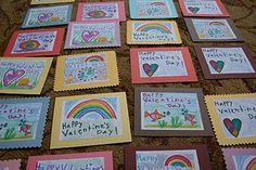 valentine heart cards :Love