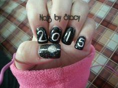 New year's nail art. @stacystancati