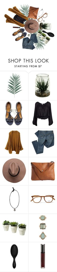 """Where the Wild Things Are"" by freakoholic ❤ liked on Polyvore featuring Coclico, Halston Heritage, Pendleton, Pieces, Garrett Leight, 10 Bells, Sephora Collection and Topshop"